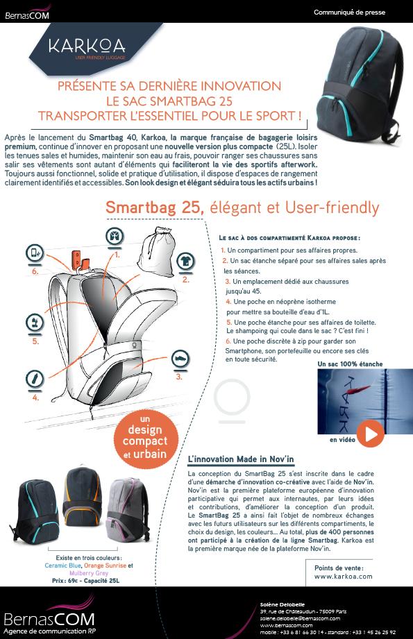 KARKOA - Smartbag25