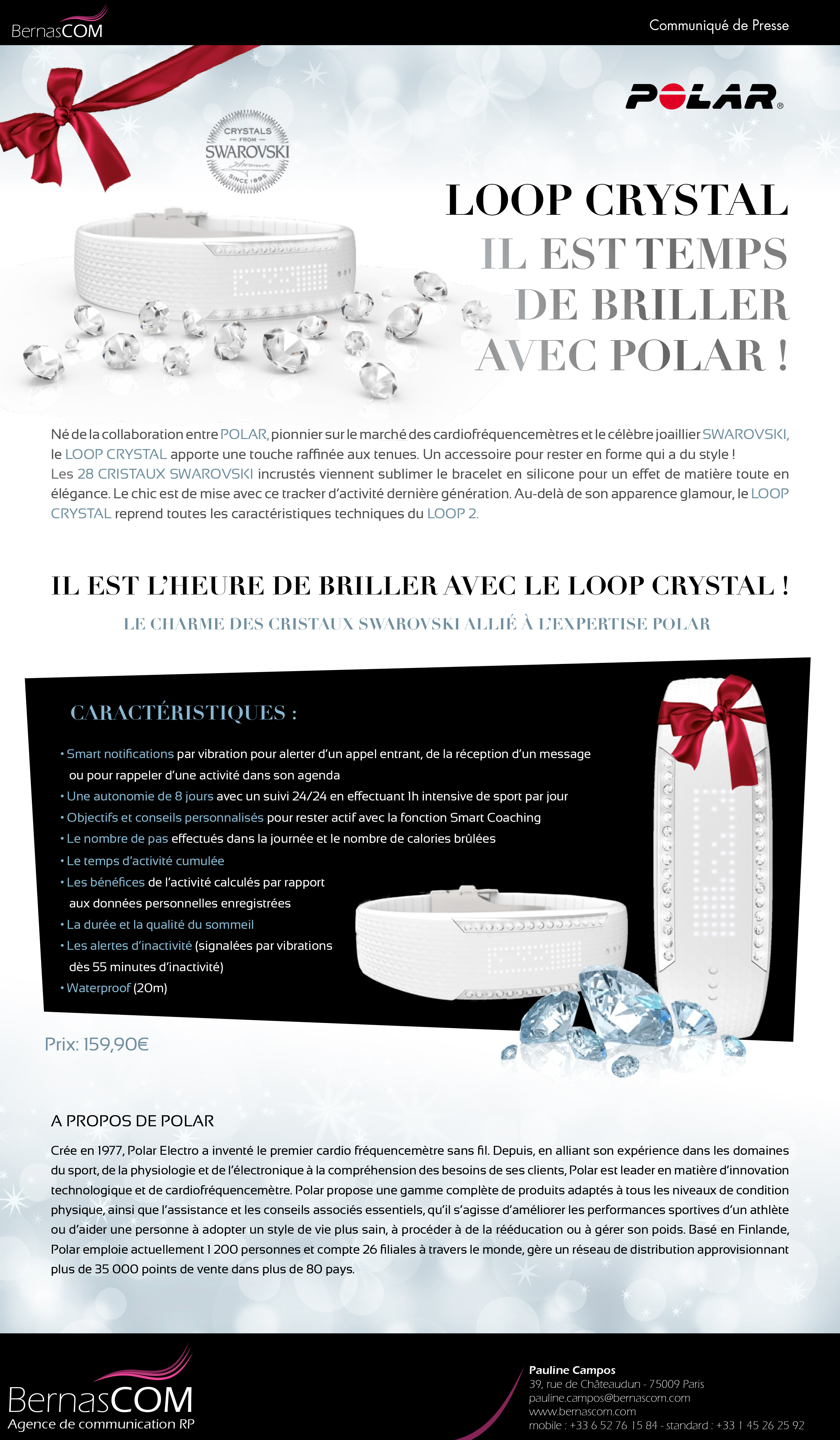 Loop Crystal Polar