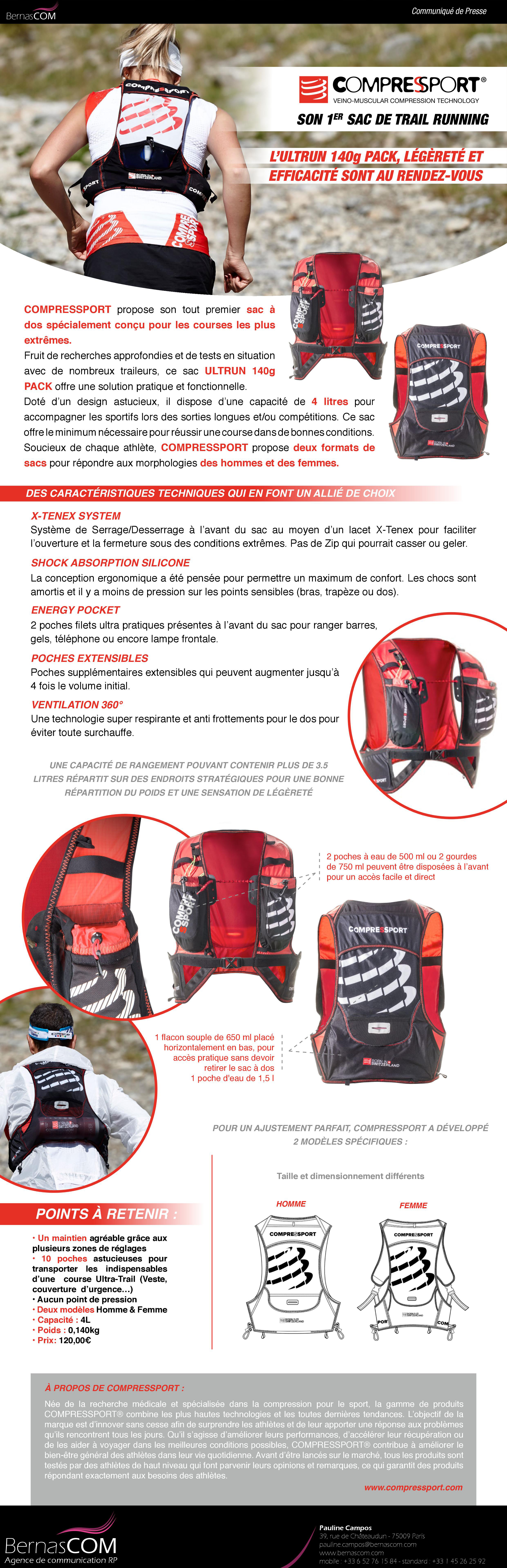Compressport sac